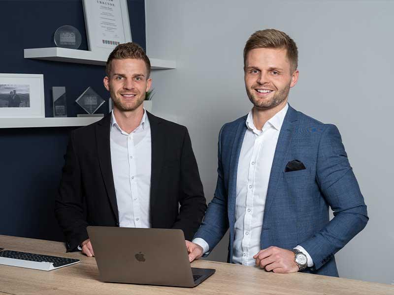 Christian und Henrik Haake